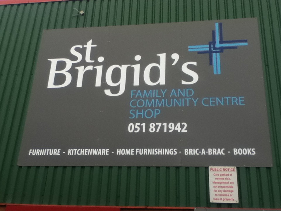 3618bee7cb1dd St Brigid's Family and Community Centre runs two charity shops within the  Waterford City area.